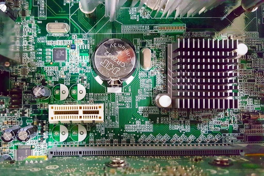 写真:パソコンの内部